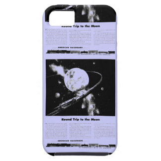 Round Trip To The Moon iPhone SE/5/5s Case