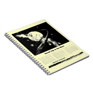 Round Trip To The Moon Notebook