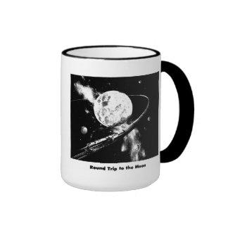 Round Trip To The Moon Ringer Mug