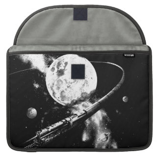 Round Trip To The Moon Sleeve For MacBooks