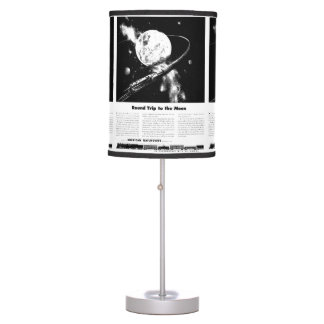 Round Trip To The Moon Table Lamp