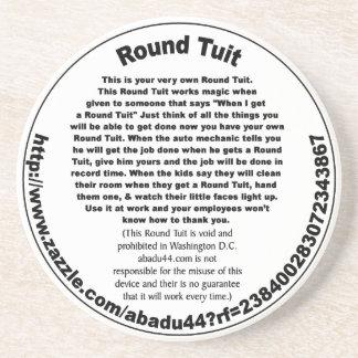 Round Tuit Drink Coaster