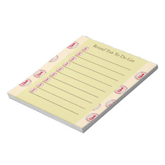 Round Tuit Notepad