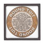 Round Tuit Premium Keepsake Box