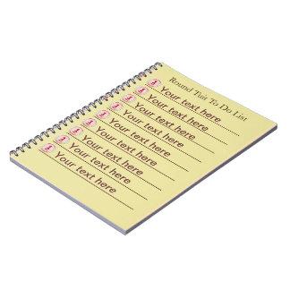 Round Tuit Spiral Notebook