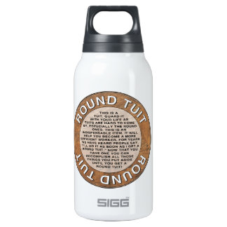 Round Tuit Thermos Water Bottle