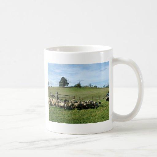 Round Up Classic White Coffee Mug
