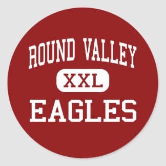 Round Valley - Eagles - Middle - Lebanon Classic Round Sticker