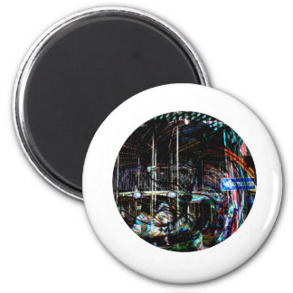 Roundabout 2 Inch Round Magnet
