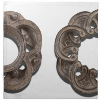 RoundArchitecturalRosettes122312 copy png Servilleta Imprimida