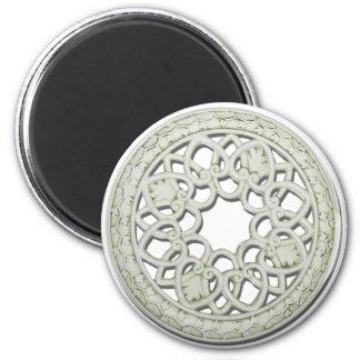 RoundDecorativeTile112810 Fridge Magnets