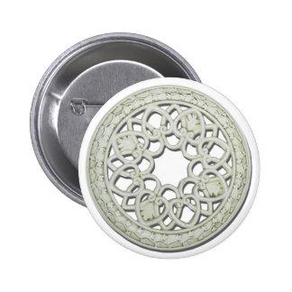 RoundDecorativeTile112810 Pinback Button