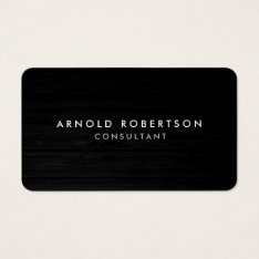 Rounded Corner Wood Professional Business Card at Zazzle