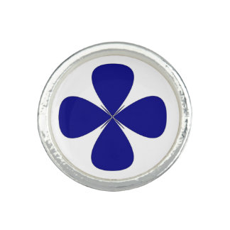 ROUNDED CROSS PHOTO RING