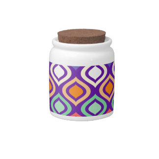Rounded Diamonds Candy Jars