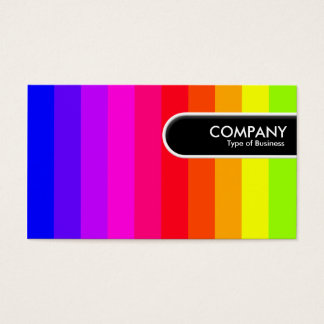 Rounded Edge Tag - Color Bars