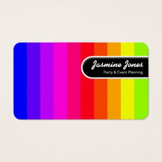 Rounded Edge Tag - Color Bars (Round Corners)