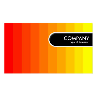 Rounded Edge Tag - Color Transition Business Card Template