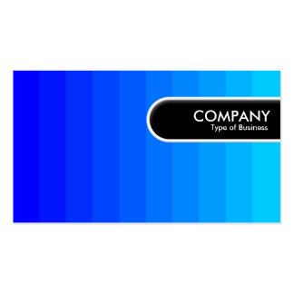 Rounded Edge Tag - Color Transition Business Card