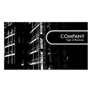 Rounded Edge Tag - High Contrast Construction Double-Sided Standard Business Cards (Pack Of 100)