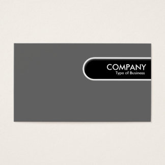 Rounded Edge Tag - Mid Gray