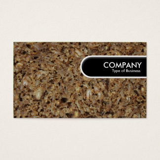 Rounded Edge Tag - Rye Bread/Pumpernickel