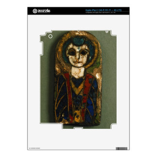 Rounded plaque, depicting Christ or a saint, late iPad 3 Decal