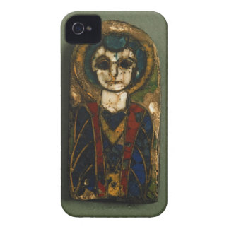 Rounded plaque, depicting Christ or a saint, late iPhone 4 Case