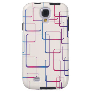 Rounded Rectangle Pattern Galaxy S4 Case