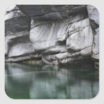 Rounded Rock Cliff by Verzasca River Sticker