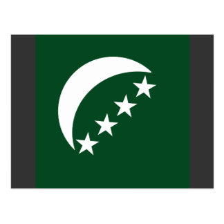 Roundel comores, Comoros Postcard