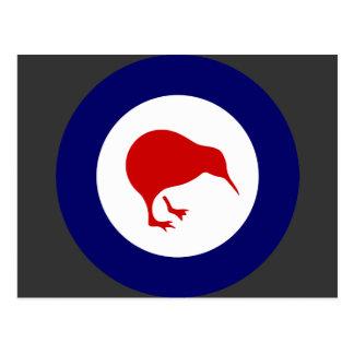 Roundel de Rnzaf, Nueva Zelanda Tarjetas Postales