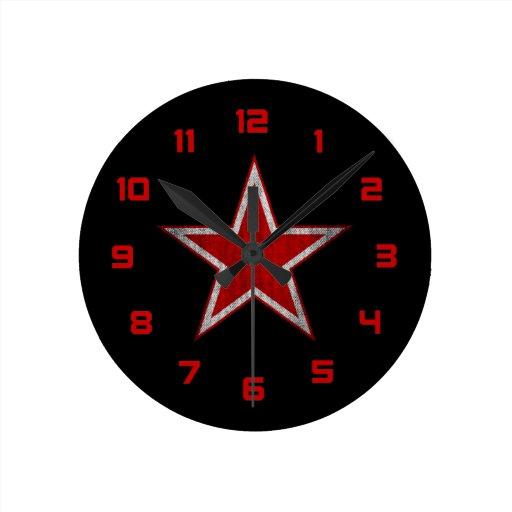 Roundel de Rusia Relojes De Pared