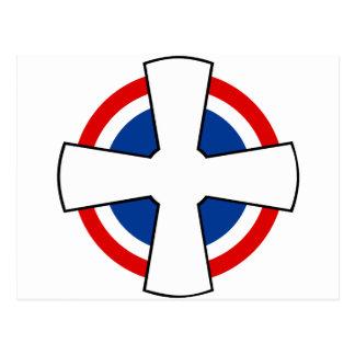 Roundel del remiendo yugoslavo real de la fuerza postales
