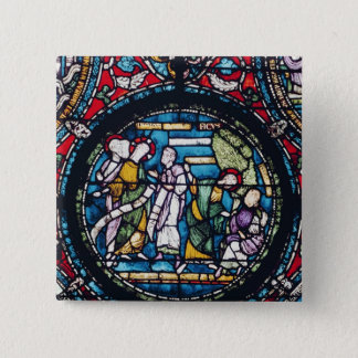 Roundel depicting the Parable of the Fig Tree Pinback Button