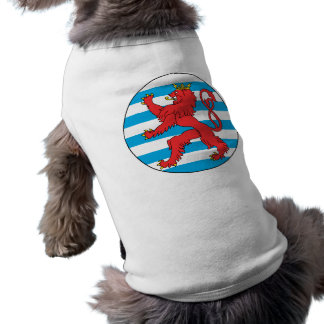 Roundel Luxembourg, Luxembourg Pet T Shirt