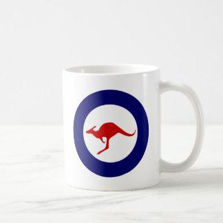 Roundel militar de la aviación del canguro de Aust Taza