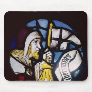 Roundel of the prophet Jeremiah, 15th century Mouse Pad