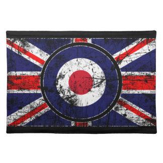 Roundel Target Mods UK Target Union Jack Cloth Placemat