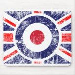 Roundel Target Mods UK Target Union Jack Mouse Pad