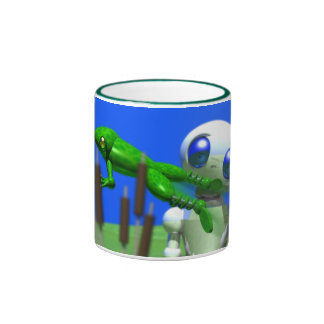 ROUNDER AND FROG RINGER COFFEE MUG