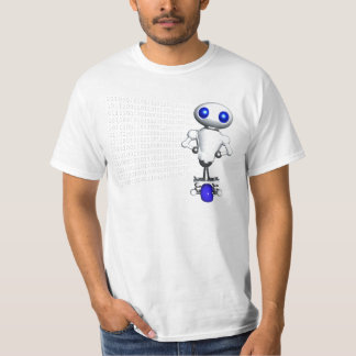 ROUNDER WITH BINARY CODE T-SHIRT