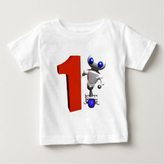 ROUNDER WITH THE NUMBER ONE BABY T-Shirt