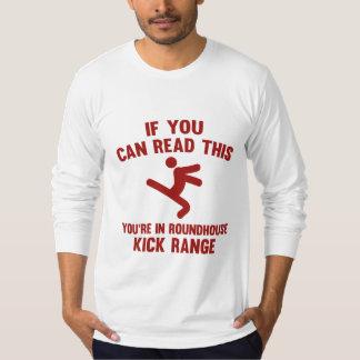 Roundhouse Kick Range T-Shirt
