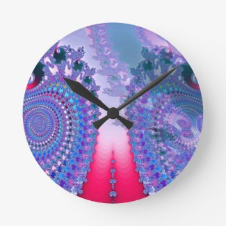 Roundhouse Peace Wall Clock