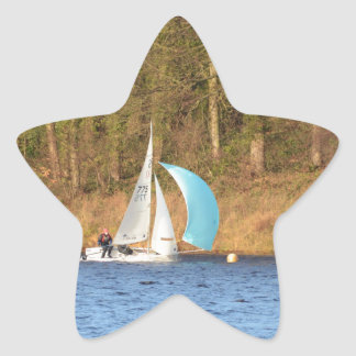 Rounding The Mark Star Stickers