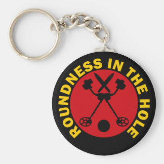 Roundness In The Hole Keychain