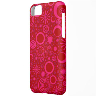 Rounds, Pink-Red iPhone 5c Case
