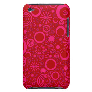 Rounds, Pink-Red iPod Touch 4g Case