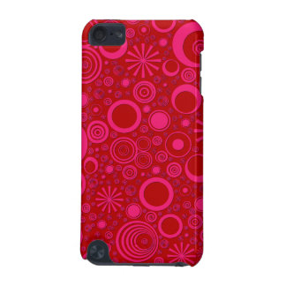 Rounds, Pink-Red iPod Touch 5g Case